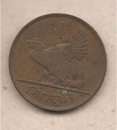 Irlanda - Moneta Circolata Da 1 Penny - 1928 - Irlanda