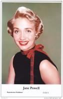 JANE POWELL - Film Star Pin Up PHOTO POSTCARD - Publisher Swiftsure Postcards 2000 - Postales