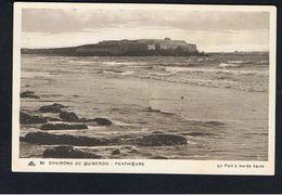 - CPA - MORBIHAN - QUIBERON - Environs - Le Fort De PENTHIEVRE à Marée Haute - - Quiberon