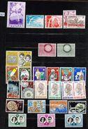 Lot Postfris Jaar 1960 ** - België