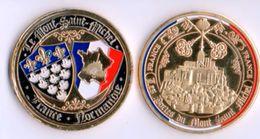 Pièce De Collection - Les Portes Du Mont-Saint-Michel - Other