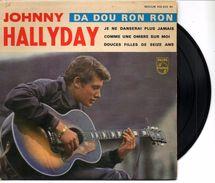 JOHNNY HALLIDAY - 45 T - 1963 DA DOU RON RON - Rock