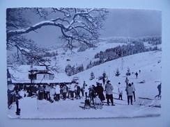 74 LES GETS Départ Des Téléskis & Pistes De La Turche & De La Chavanne Sports-d'hiver Ski Skieur Piste Luge - Les Gets
