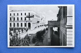 Cartolina Africa - Libia - Bengasi - Palazzo Cassa Risparmio - 1939 - Cartes Postales