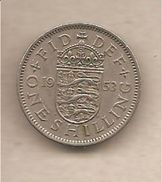 Regno Unito - Moneta Circolata Da 1 Scellino - 1953 - Altri