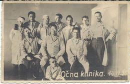 Croatia Zagreb 14.VI 1935. - Clinique Oculaire.Eye Clinic - Croatia
