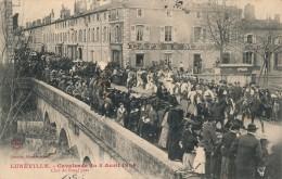 G151 - 54 - LUNEVILLE - Meurthe-et-Moselle - Cavalcade Du 4 Avril 1904 - Char Du Boeuf Gras - Luneville