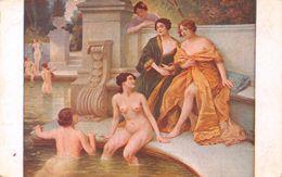 Scalbert - Baigneuses - Femme Nue Nu Nude Seins Nus érotique Erotica - Nus Adultes (< 1960)