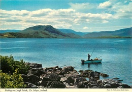CPSM Fishing On Lough Mask,Mayo    L2487 - Mayo