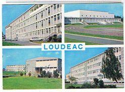 22..LOUDEAC  - 4 VUES    TBE - Loudéac