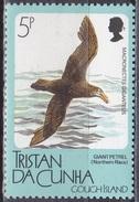 Tristan Da Cunha 1989 Tiere Fauna Animals Vögel Birds Sturmvogel Gough Insel Mi. 468 ** - Tristan Da Cunha