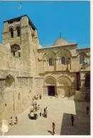 JERUSALEM FASSADE DER GRABESKIRCHE  NICE STAMP - Israel