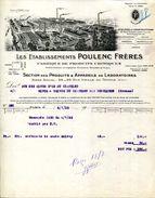 FABRIQUE DE PRODUITS CHIMIQUES POULENC FRERES.PARIS. - Chemist's (drugstore) & Perfumery