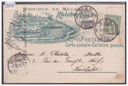 SION - FABRIQUE DE MEUBLES REICHENBACH - B ( PLI D'ANGLE ) - VS Valais