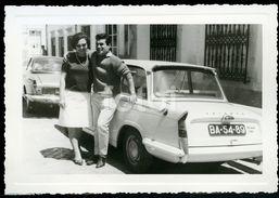 60s RENAULT FLORIDE CARAVELLE TRIUMPH HERALD LISBOA PORTUGAL PHOTO FOTO MMS113 - Automobiles