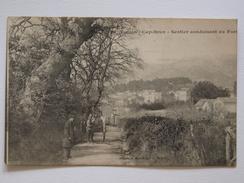 Cpa, Trés Belle Vue Animée, Attelage, Toulon, Cap Brun, Sentier Conduisant Au Fort - Toulon