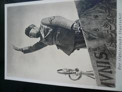 Cartolina Tedesca  Visita Mussolini 1937 In Germania Usata 29.09.37 - Italia