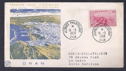 Enveloppe Journée Philatelique Oran 1958 - FDC