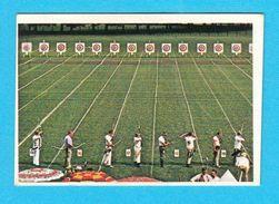 ARCHERY - Mediterranean Games 1979. * MINT STICKER * Tir à L'arc Bogenschießen Tiro Con L'arco Tiro Jeux Mediterraneens - Archery