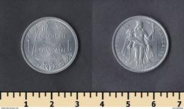 French Polynesia 1 Franc 1979 - French Polynesia