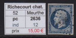 Richecourt Le Chateau - Meurthe - Pc 2636 - 1849-1876: Période Classique