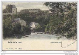 WALZIN ..-- Nels 8 , N° 6 . Le MOULIN . 1904 Vers BRUXELLES ( Mr Robert SCHMITT ) . Voir Verso . - Dinant