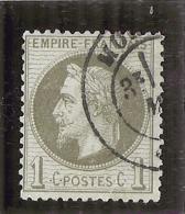 Napoléon III Lauré N° 25 Côte 25€ TTB - 1863-1870 Napoléon III Lauré