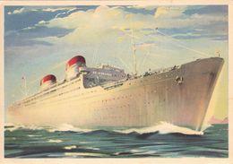 Cartolina Pubblicitaria - Italia Società Di Navigazione Genova - Cartoline