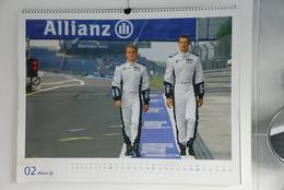 Formule 1 / Sports Moteurs / Schumacher - Calendrier 2008 - Calendriers