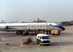 1979 DOUGLAS DC-9 PLANE AVION AERO TRASPORTI ITALIANI ATI FIAT ALITALIA PHOTO FOTO LCS111 - Aviation
