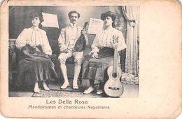 Les Della Rosa - Mandolinistes Et Chanteurs Napolitains - Mandoline Musique Musiciens - Musica E Musicisti
