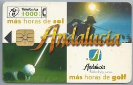 ES.- CabiTel. Telefonica De Espana. Ryder Cup '97. Johnnie Walker. VALDERRAMA. ANDALUCIA. Sede De La Ryder Cup. 2 Scans - Sport