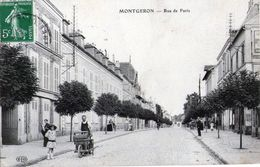 D89 - Montgeron - Rue De Paris . E.D - Montgeron