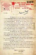 TITANIC - Réplique -lettre De Condoléances Reçue Le 19 April 1912 - Bateaux