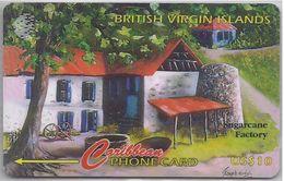 BRITISH VIRGIN ISLANDS - SUGARCANE FACTORY - 218CVVB - Virgin Islands