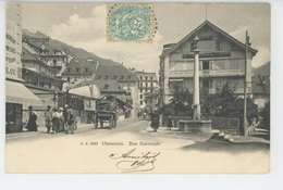 CHAMONIX - Rue Nationale - Chamonix-Mont-Blanc