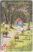 BRITISH VIRGIN ISLANDS - BVI LIVESTOCK - 193CBVK - Virgin Islands