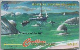 BRITISH VIRGIN ISLANDS - SLOOPS OF THE BVI  - 218CVVA - Virgin Islands