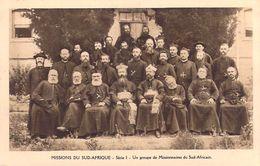 MISSIONS DU SUD-AFRIQUE Un Groupe De Missionnaires Sud-Africain  (MISSION Religion) Série I* PRIX FIXE - Missions