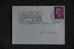 Lettre De BORDEAUX ( 33) Vers SP 69551 - 1961-....