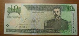 2003 - République Dominicaine - Dominicain Republic - DIEZ PESOS ORO - LR4688104 - Dominicana