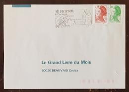FRANCE Vigne Et Vin, Flamme Commemorative MERCUREY Sa Confrere Vineuse 1986 - Vins & Alcools