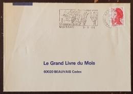 FRANCE Vigne Et Vin, Flamme Commemorative MOISSAC Pierres Romanes, Chasselas Doré 1986 - Vins & Alcools
