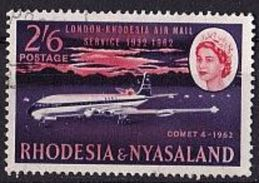 RHODESIEN & NYASALAND Mi. Nr. 44 O (A-5-23) - Rhodésie & Nyasaland (1954-1963)