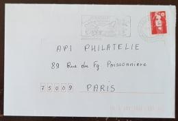 FRANCE Vigne Et Vin, Flamme Commemorative Illustrée JURANCON Ses Coteaux, Ses Vins 1990 - Vins & Alcools