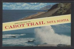 Canada. NS - Cape Breton. *Greetings From The Cabot Trail...* Nueva. - Cape Breton