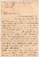 VP11.756 - Noblesse - LAS - Lettre De Mr Le Marquis D'ARAGON à TOULOUSE - Autographs