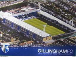 Gillingham Football Club Priestfield Stadium  Cartolina Stadio Postcard Stadion AK Carte Postale Stade Estadio - Calcio