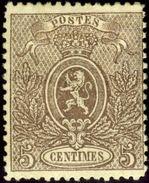 Belgium. Scott #26. Unused. Thinned. - 1866-1867 Coat Of Arms