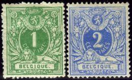 Belgium. Scott #28-29. Unused. - 1869-1888 Lion Couché (Liegender Löwe)